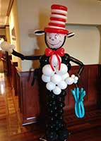 Balloonatics Cat-in-the-Hat balloon sculpture