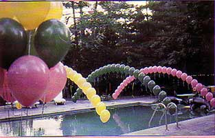 Balloon Arches Garlands And Columns